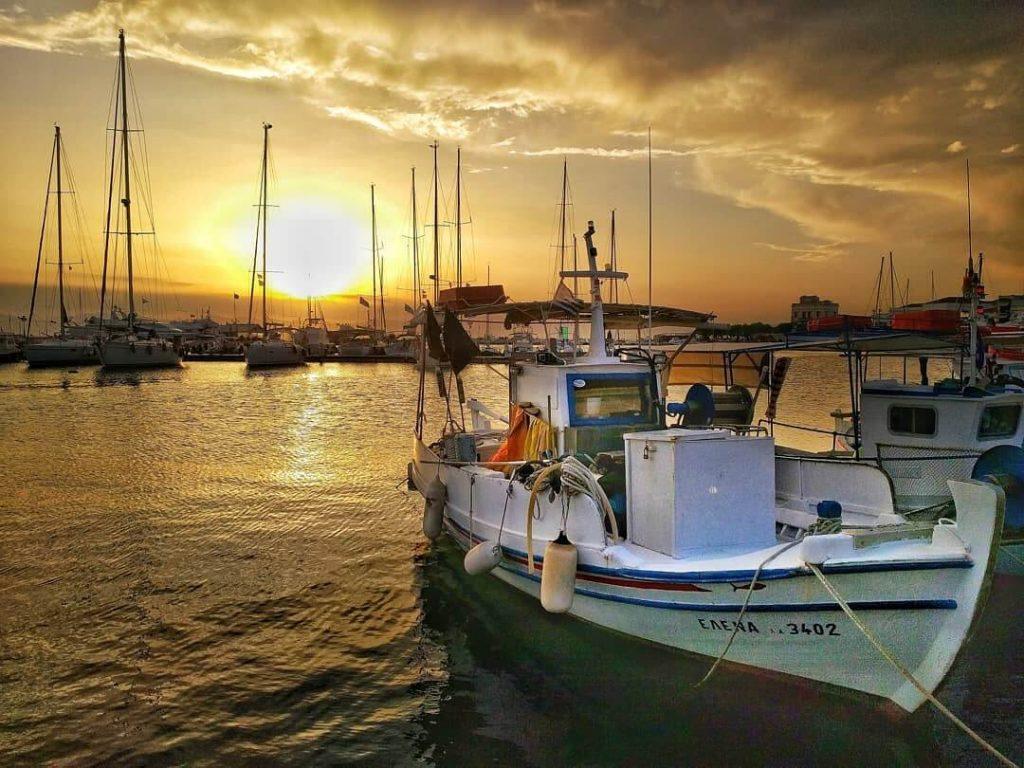 Sunset-Aegina